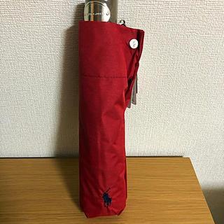 POLO RALPH LAUREN - 新品UV遮蔽率99%以上 晴雨兼用折りたたみ傘