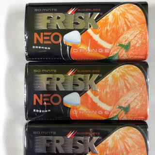 クラシエ(Kracie)のフリスクネオ オレンジ 4個(口臭防止/エチケット用品)
