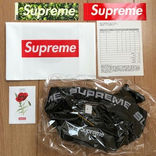 シュプリーム(Supreme)のSupreme 18ss Waist Bag ウエストバッグ 黒(ウエストポーチ)