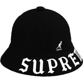 シュプリーム(Supreme)の未開封 XL Kangol Bermuda Casual Hat Black(ハット)