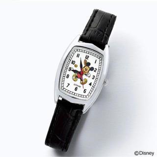 Disney - 雑誌 付録】 ヴィンテージ調 ミッキーマウス腕時計