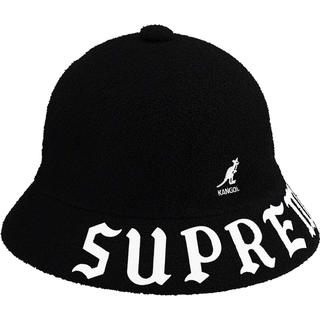 シュプリーム(Supreme)の未開封 L Kangol Bermuda Casual Hat Black(ハット)
