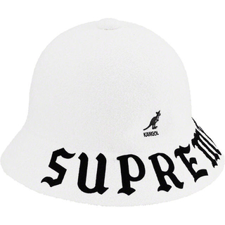 シュプリーム(Supreme)の未開封 XL Kangol Bermuda Casual Hat White(ハット)