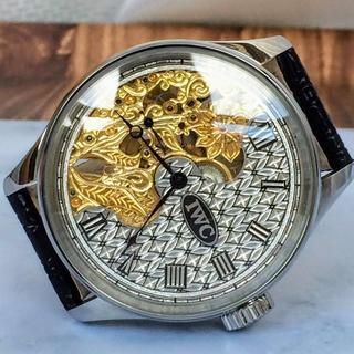 インターナショナルウォッチカンパニー(IWC)のIWC シャフハウゼン アンティーク メンズ腕時計 スケルトン 手巻き 送料無料(腕時計(アナログ))