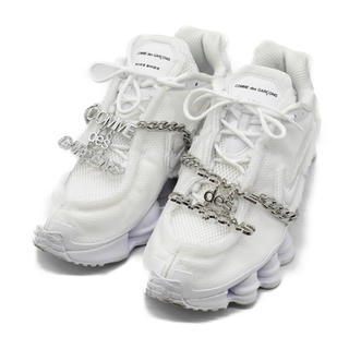 COMME des GARCONS - Nike shox cdg ホワイト