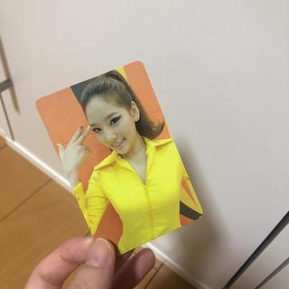 ショウジョジダイ(少女時代)の少女時代 テヨン トレカ(アイドルグッズ)