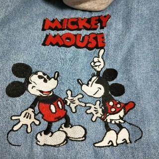 ZARA - 完売品■刺繍♪ZARA ミッキーマウス ディズニー デニムシャツジャケット