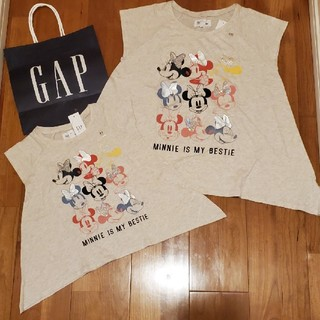 ベビーギャップ(babyGAP)のディズニーコレクション ミニー 親子お揃いセット(Tシャツ/カットソー)