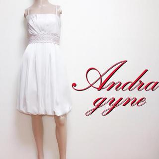 大切な日に♪アンドラガイナ 美くびれミディアムドレス♡ジルスチュアート アン