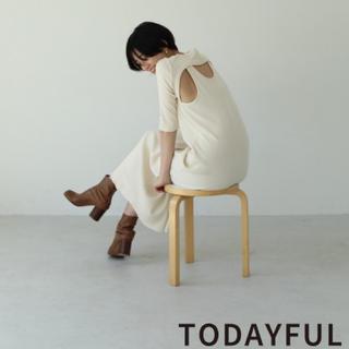 TODAYFUL - TODAYFUL  BackLayered Rib Dress