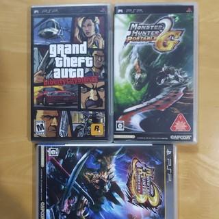 プレイステーションポータブル(PlayStation Portable)のグランド・セフト・オート・リバティーシティ・ストーリーズ 3本セット(携帯用ゲームソフト)