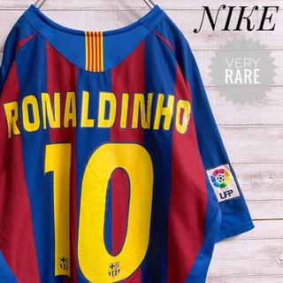 NIKE - ★超絶レア★ ロナウジーニョ FCバルセロナ NIKE ナイキ L ゲームシャツ