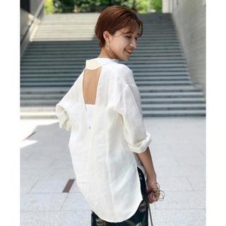TODAYFUL - TODAYFUL  Backopen Linen Shirts
