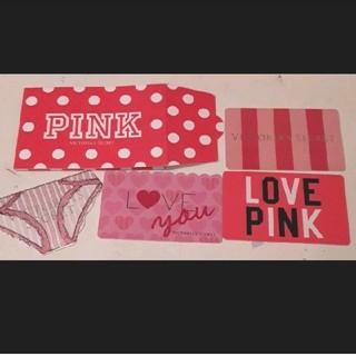 ヴィクトリアズシークレット(Victoria's Secret)のヴィクトリア シークレット PINK ギフトカード(その他)