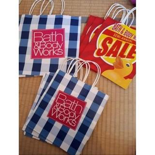 バスアンドボディーワークス(Bath & Body Works)のbath&body Works バス&ボディワークス ショップ袋(ショップ袋)