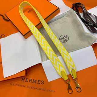 エルメス(Hermes)のHermès エルメス サングル ジグザグ ショルダーストラップ ゴールド金具(ショルダーバッグ)