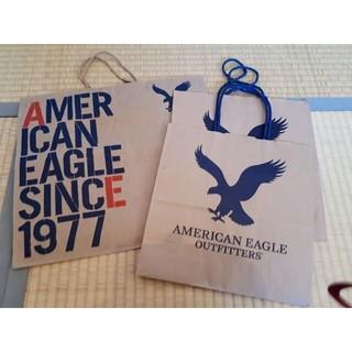 アメリカンイーグル(American Eagle)のAMERICAN EAGLE アメリカンイーグル ショップ袋(ショップ袋)
