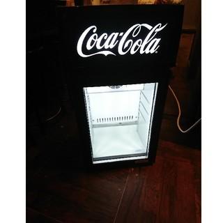 送料込み!コカ・コーラ 冷蔵庫  ショーケース