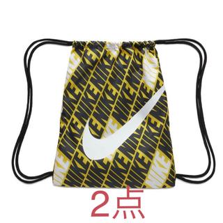 ナイキ(NIKE)の【新品】NIKE ナイキ ナップサック ジムサック ロゴバッグ リュック 12L(バッグパック/リュック)