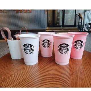 Starbucks Coffee - 韓国スタバ★ 桜 スタッキングカップセット355ml