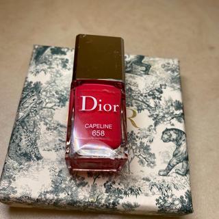 ディオール(Dior)のDior CAPELINE 658(マニキュア)