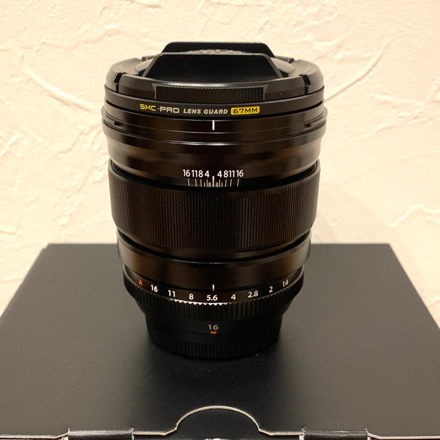 富士フイルム(フジフイルム)のXF16mm F1.4 R WR FUJIFILM スマホ/家電/カメラのカメラ(レンズ(単焦点))の商品写真