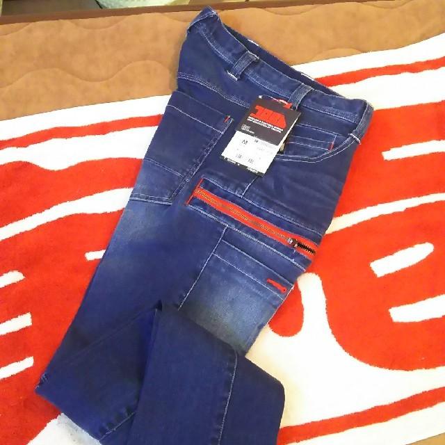 寅壱(トライチ)の寅壱限定ストレッチデニム上下Mセット❕赤ファスナー❗️ メンズのスーツ(セットアップ)の商品写真