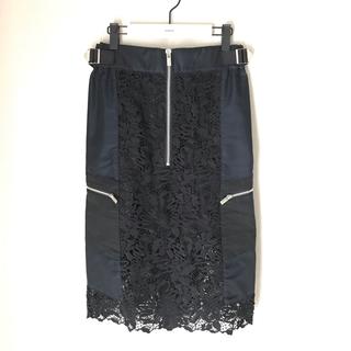sacai - ♡サカイ♡2019SS♡刺繍レーススカート♡