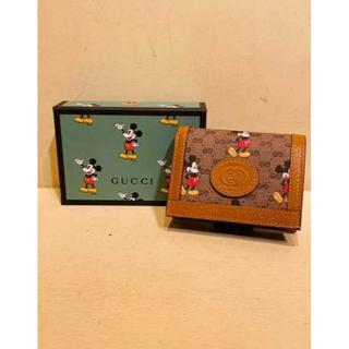 Gucci - 【GUCCI】ディズニー*コイン&紙幣入れ付カードケースウォレット