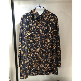 コムデギャルソン(COMME des GARCONS)の古着屋購入! お洒落なアート柄デザインシャツ(シャツ)
