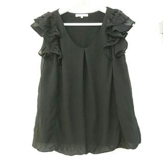 PROPORTION BODY DRESSING - カットソー フリル ブラック
