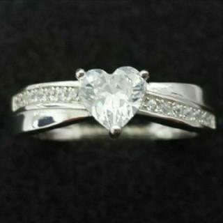 SWAROVSKI - f32🌸ジョリージョーカー🌸純銀製ダイヤモンドキュービックジルコニア リング