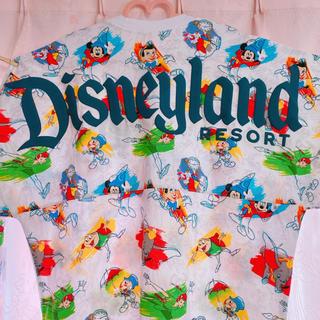 ディズニー(Disney)の海外限定♡ディズニーランド♡アナハイム♡スピリットジャージー♡スウェットM①(トレーナー/スウェット)