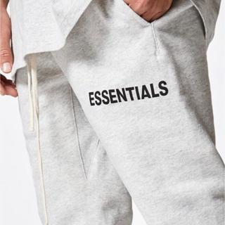 フィアオブゴッド(FEAR OF GOD)のFOG essentials sweat pants グレー サイズS(その他)