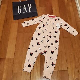 ベビーギャップ(babyGAP)の70 ディズニーコレクション ミニー 長袖ロンパース(ロンパース)