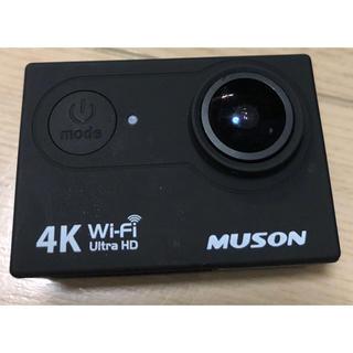 ゴープロ(GoPro)のMUSON(ムソン)アクションカメラ MC2 Pro1 ブラック(コンパクトデジタルカメラ)