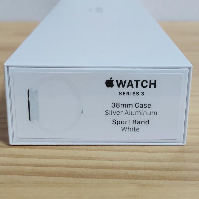 Apple(アップル)のApple Watch Series 3 GPS 42mm MTF22J/A 破 スマホ/家電/カメラのスマートフォン/携帯電話(その他)の商品写真