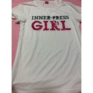 インナープレス(INNER PRESS)のインナープレス Tシャツ(Tシャツ/カットソー)