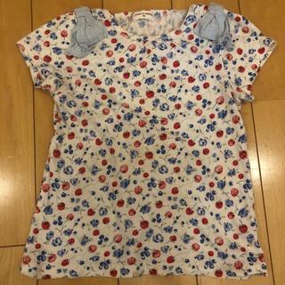 sense of wonder - センスオブワンダー  花柄Tシャツ 100