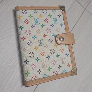 LOUIS VUITTON - LOUIS VUITTON ルイヴィトン 手帳 マルチカラー モノグラム 財布