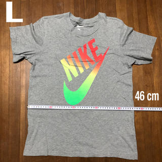 NIKE - ナイキデカログ tシャツ (L)