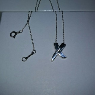 ティファニー(Tiffany & Co.)のティファニー エックスキス ダイヤモンド ネックレス(ネックレス)