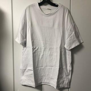 フィアオブゴッド(FEAR OF GOD)のFOG essentials Tシャツ M 白 オーバーサイズ(Tシャツ/カットソー(半袖/袖なし))
