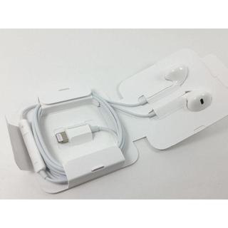 アップル(Apple)の新品未使用 アイフォン iphone 7 8 X 付属 純正 イヤホン(その他)