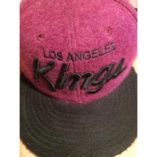 ユナイテッドアローズ(UNITED ARROWS)のLOSANGELS KINGS ベースボール CAP 新品 ニューエラ(キャップ)