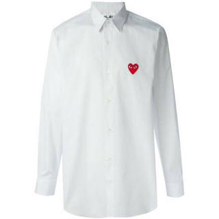 コムデギャルソン(COMME des GARCONS)のギャルソン プレイ 白シャツ(シャツ)