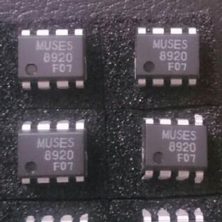 2回路入J-FET入力高音質オペアンプ MUSES8920D 2個(アンプ)