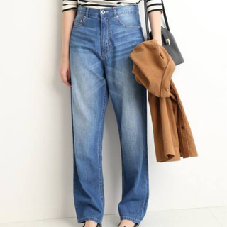 IENA SLOBE - SLOBE IENA LE DENIM Light OZ ストレートデニムパンツ