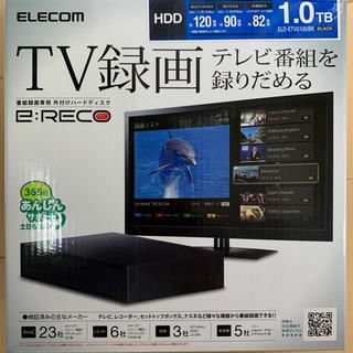 ELECOM - ELD-ETV010UBK 外付けHDD ブラック [据え置き型 /1TB]