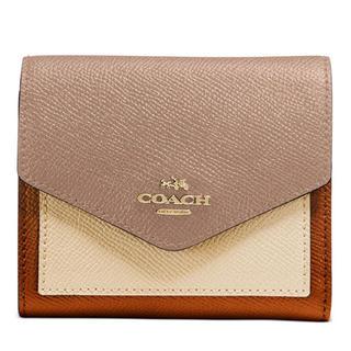 COACH - 【新品未使用】COACH コーチ 三つ折り財布 ミニ財布 マルチカラー
